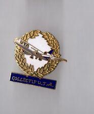 Pin's aviation / Collectif de la Compagnie aérienne UTA (EGF numéroté n°1987)