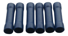 25X Blue Insulated Straight Butt Connectors Electrical Crimps Terminals Cable