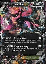 Pokemon Krookodile EX XY25 Holofoil Promo Card (Regular/Normal Size)