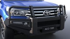 GENUINE TOYOTA HILUX SR5 JUL15  PREMIUM STEEL BULLBAR FOG LAMP WINCH COMPATIBLE