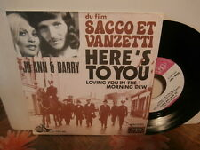 "jo ann & barry""b.o.film''sacco et vanzetti""single7""or.fr.vogue:oxv567 de1971"