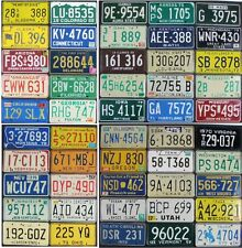 All 50 United States License Plates VINTAGE OLDER SET - Premium Set