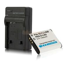 LI-50B Battery + Charger for Olympus SZ-12 SZ-31MR iHS  TG-820 iHS VR-340 SP-81