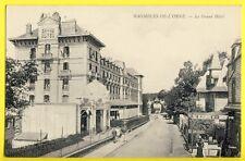 CPA France 61 - BAGNOLES de l'ORNE Le Grand HÔTEL Vendeuse de Cartes Postales