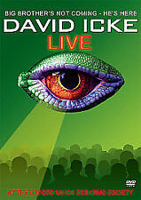 David Icke - Live At The Oxford Union Debating Society (DVD, 2008)