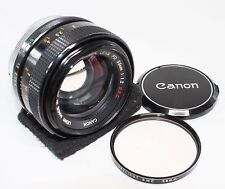 Good++ Canon FD 55mm F/1.2 S.S.C Lens Made In Japan