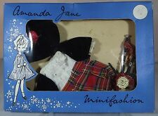VINTAGE 1960s BOXED AMANDA JANE SCOTTISH PIPER OUTFIT (875) MINIFASHION CLOTHES