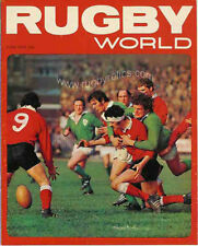 RUGBY WORLD MAGAZINE JUNE 1973 - PERFECT GIFT FOR A FAN BORN IN THIS MONTH