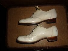 Vtg Wwii 30s 40s Miller Barefoot Freedom Leather Granny Oxford Shoes Size 6.5