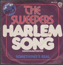 """7"""" The Sweepers Harlem Song / Something`s Real 70`s Warner Bros (Diff. Cover)"""