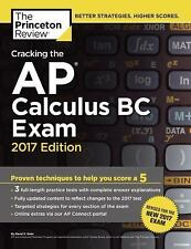 College Test Preparation  Cracking the AP Calculus BC Exam  2017 Edition