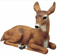 Doe Deer Garden Statue Outdoor Animal Lawn Yard Decor