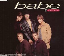 TAKE THAT - Babe (UK 4 Track CD Single Pt 1)
