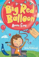 NEW - Big Red Balloon (Blue Bananas) by Fine, Anne
