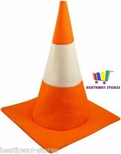 TRAFFIC CONE HAT ORANGE ROAD STAG NIGHT FANCY DRESS COSTUME FUNNY ADULT UNISEX