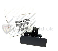 Fiat Grande Punto Black glove box Front lid handle catch Genuine LEFT HAND DRIVE