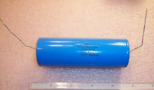 QTY(1) WBR2000-100 CDE 2000uf 100V INDUSTRIAL GRADE AXIAL ELECTROLYTIC CAPACITOR