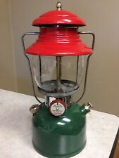 Coleman 4/51 Christmas 200 Lantern ! Original Paint ! Rare Early Month ! Works !