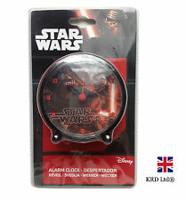 STAR WARS Force Awakens Kids ALARM CLOCK Bedside Table Girls Boys Birthday Gift