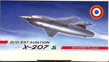 Sharkit Models 1/72 French SUD EST AVIATION X-207 S Ramjet Rocket Aircraft