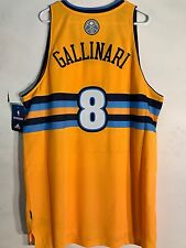 Adidas Swingman NBA Jersey DENVER Nuggets Danilo Gallinari Gold Alternate sz XL