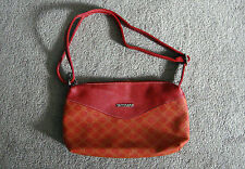 SECOSANA Multicolor Red Yellow Shoulder Bag