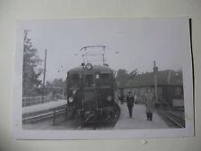 SWE394 - 1950s STOCKHOLM ROSLAGENS Jarnvager - TRAIN PHOTO - Sweden