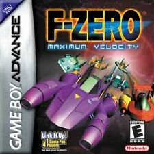 F-Zero Maximum Velocity - Game Boy Advance Gba Sp DS