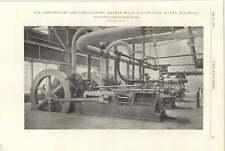 1898 Haskins Wood Vulcanising Works Millwall Air Compressors Circulators