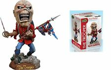 IRON Maiden Eddie il Trooper Headknocker bobblhead FIGURE NECA