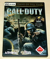 CALL OF DUTY - GAME OF THE YEAR EDITION - PC