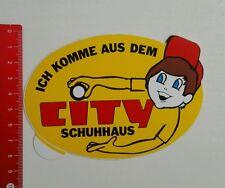 Aufkleber/Sticker: City Schuhhaus (010716173)
