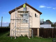 Scaffold tower 6x4 heavy duty 21ft working height +FREE BASE PLATES