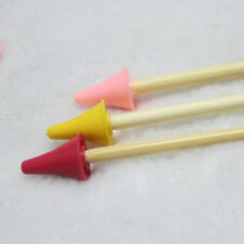 10Pcs/set Plastic Durable Point Protector/Stoppers For Knitting Needles