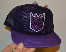 Transformers Logo Trucker Style Adjustable Adult Hat Cap Mesh Official Licensed