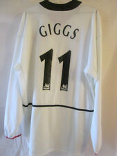 Manchester United 2002-2003 Away Giggs Football Shirt Large long sleeve 15466