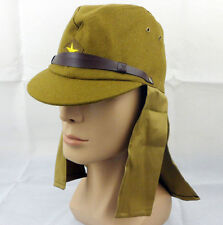 WWII Japanese army soldier cap hat with neck flaps Size XL-A20220