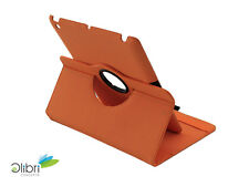 iPad 4 3 2 360 Wabenmuster Smart Cover Hülle Tasche Schutz Case - Orange