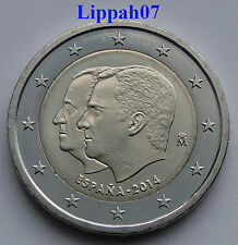 Spanje speciale 2 euro 2014 Dubbelportret Troonswisseling UNC