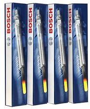 4 Bosch Calentador Bujías 0250204002 Citroen C4 1.6HDI 110bhp 16V 2006 > 2011