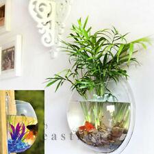 Home Decoration Pot Wall Hanging Mount Bubble Aquarium Bowl Fish Tank Aquarium
