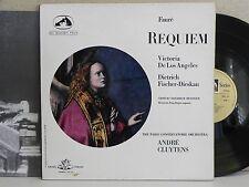 SAN 107 Faure Requiem De Los Angeles Paris Conservatoire Cluytens Black Angel LP