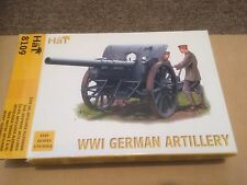 HAT WW1 German Artillery 1:72 scale for spares