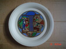 Hornsea Limited Edition Christmas Plate 1982