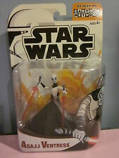 Star Wars Clone Wars Asajj Ventress Sealed