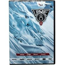 NWT KIDSKNOW DISTRIBUTION PIRATE UNIQUE 8 SNOWBOARD DVD  MOVIE GIGI RUF