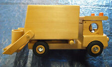 garbage truck-sanitation truck-trash truck-refuse truck-wooden toy trucks-trucks