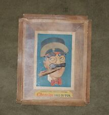 1949 Groucho Marx Famous Comedian Cheerios Hall of Fun 3D Picture Frame