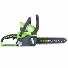 GreenWorks 20292 G-MAX 40V 12-In Battery Powered Chain Saw NO Battery or Charger