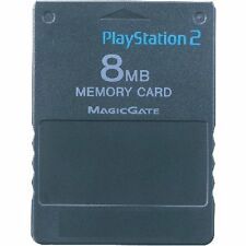 Official Sony PlayStation 2 - 8MB Memory Card MagicGate PS2